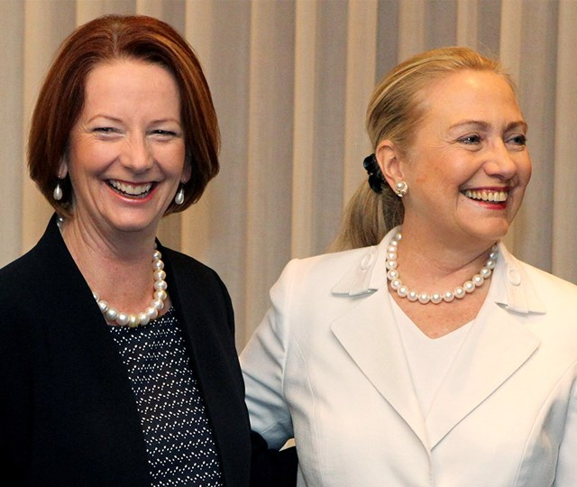 Julia Gillard Calls Out Americans On Sexism Against Hillary Clinton