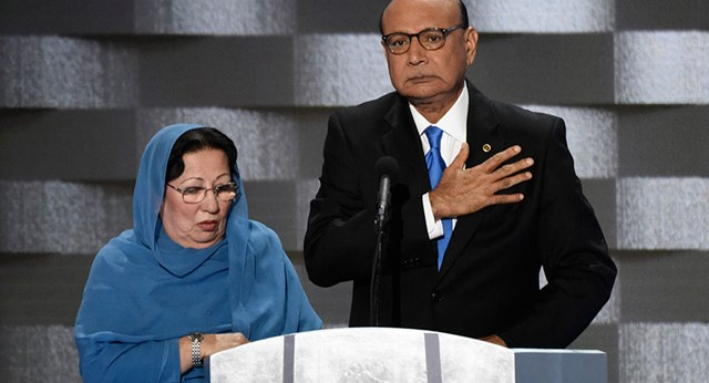 Muslim Mother Of US War Hero Fires Back At Donald Trump