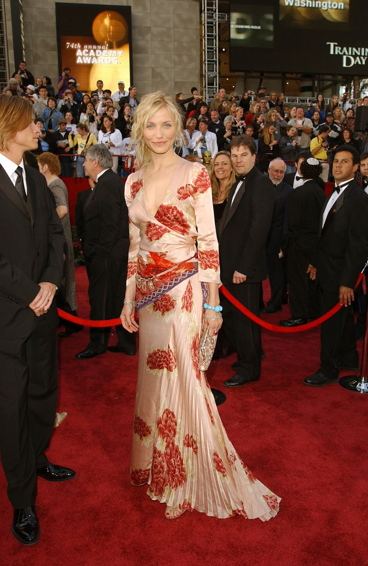 Revisiting Cameron Diaz S Notable Red Carpet Moments Marie Claire Australia