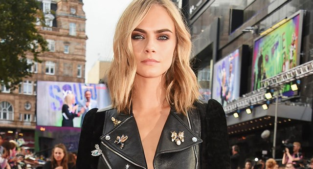 Cara Delevingne Just Stepped Out With The Most 90s Hairstyle Ever