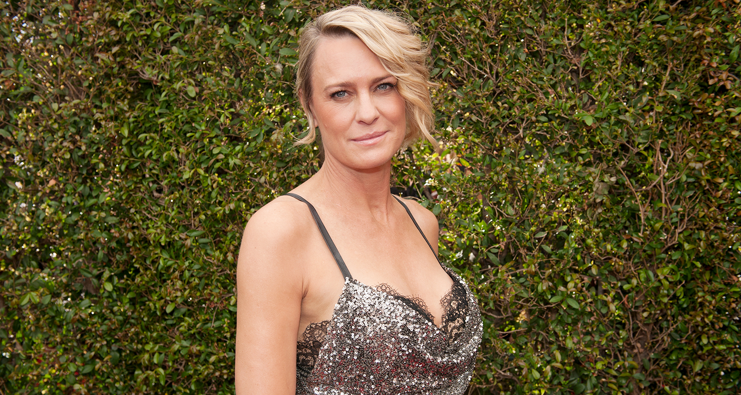 How Robin Wright Makes 54 look 34