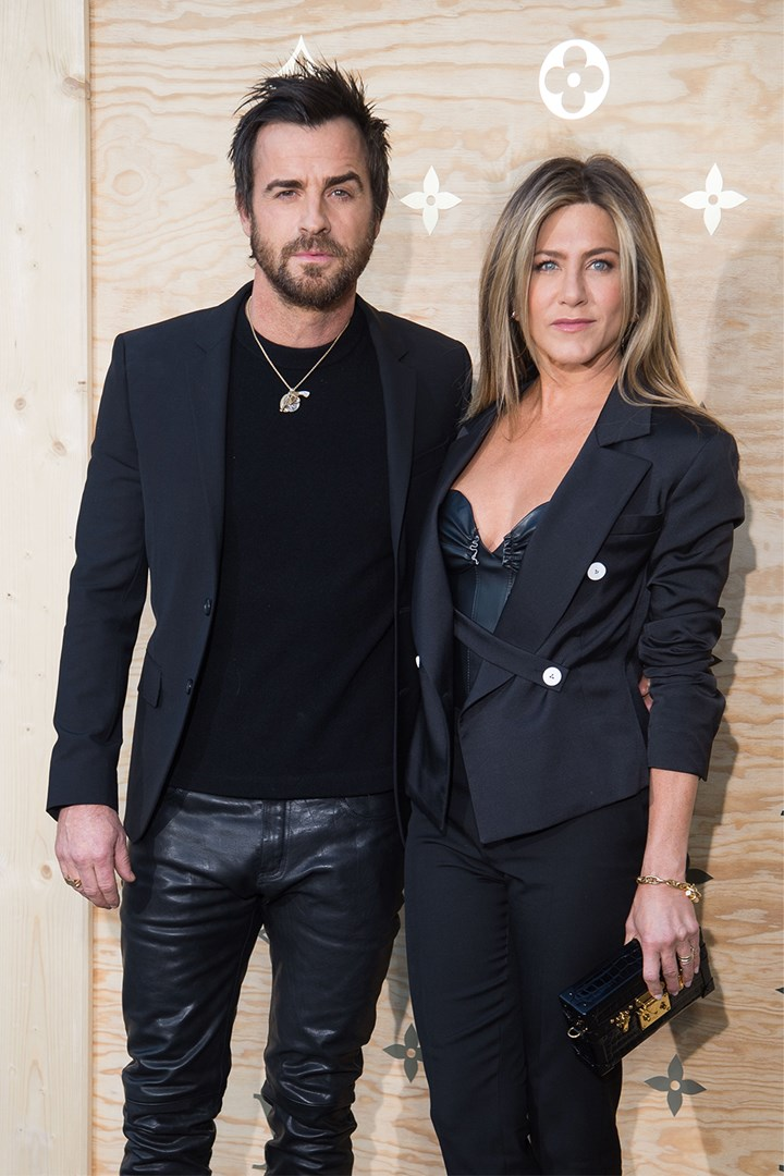 Theroux dating 2018 is justin who Jennifer Aniston's