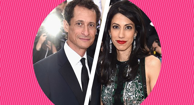 Huma Abedin And Anthony Weiner Will Separate After His THIRD Sexting Scandal