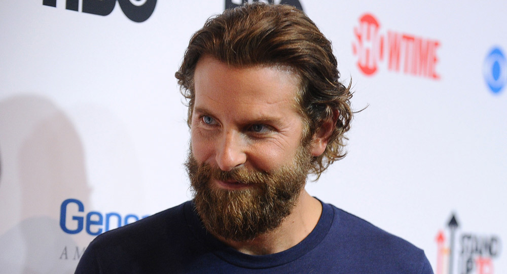 Bradley Cooper Looks Unrecognisable With Scruffy Beard