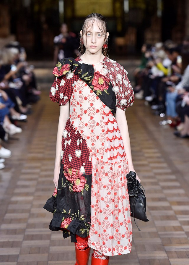17 looks from the Simone Rocha runway at London Fashion Week