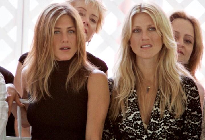 Jennifer Aniston with Andrea Bendewald