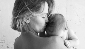Pregnant Lara Worthington just shared the sweetest snap